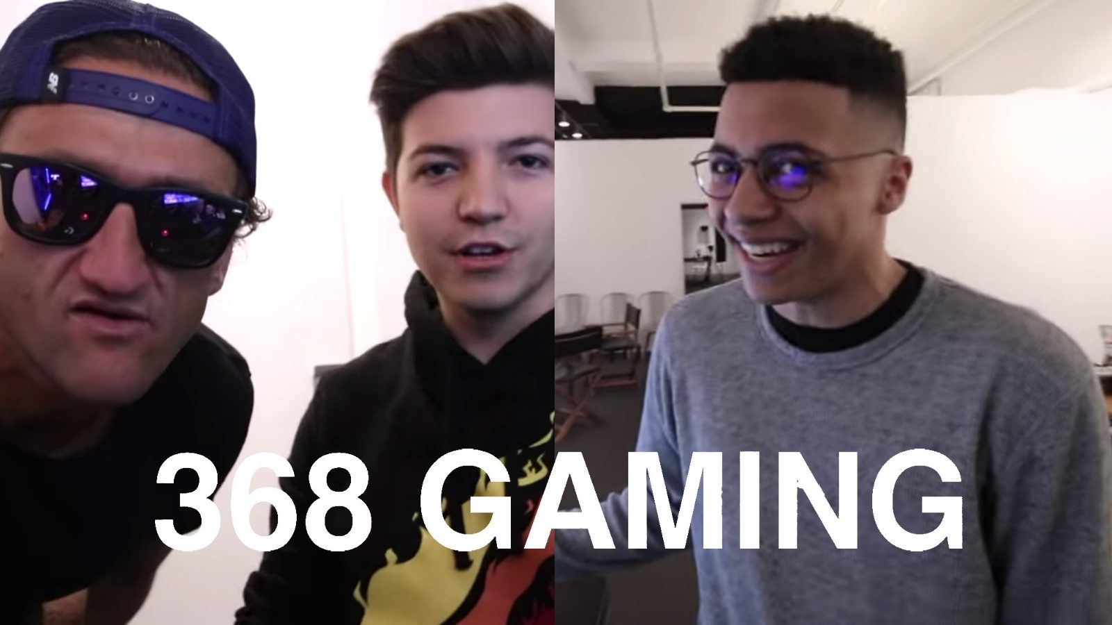 Casey Neistat Unveils New 368 Gaming Space with TSM Myth 1600x900