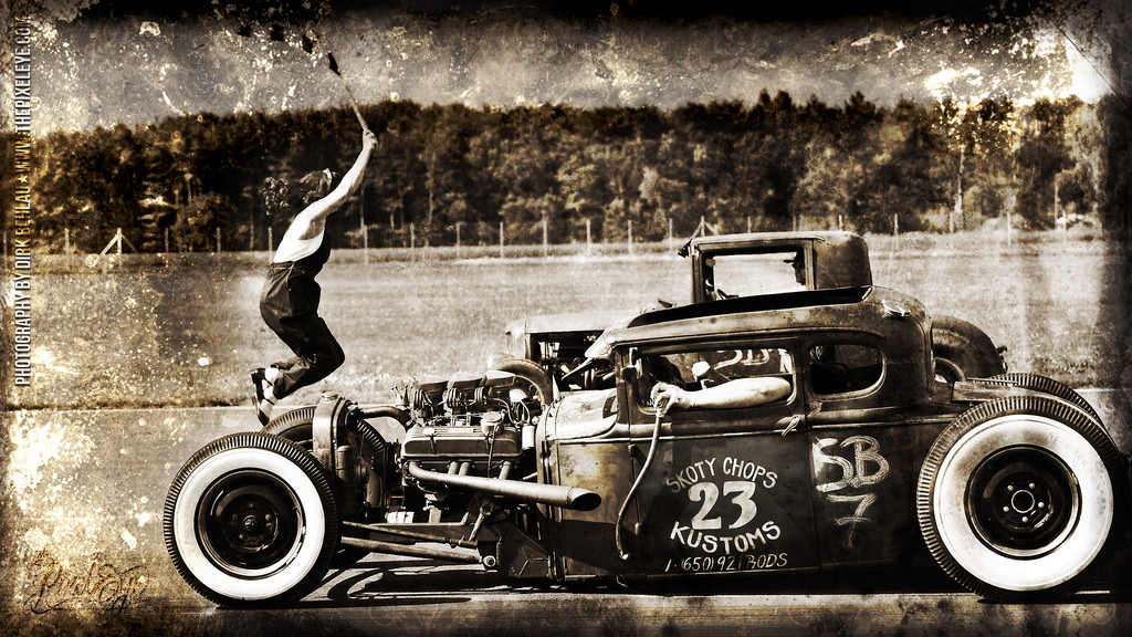 Hot Rod Wallpaper 27 iMac by The Pixeleye Flickr   Photo Sharing 1024x576