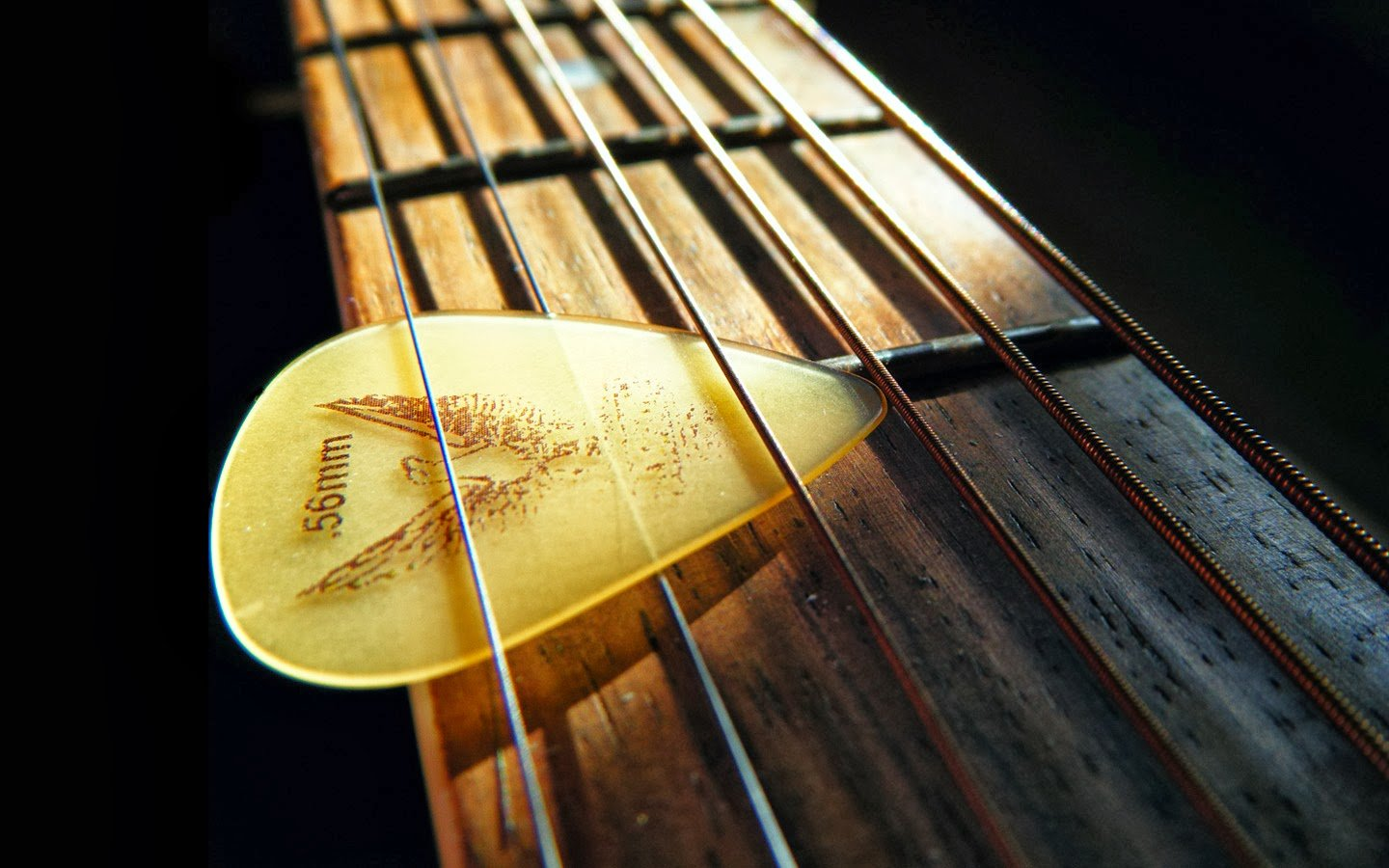 Guitar hat country wallpapers and images 1440x900
