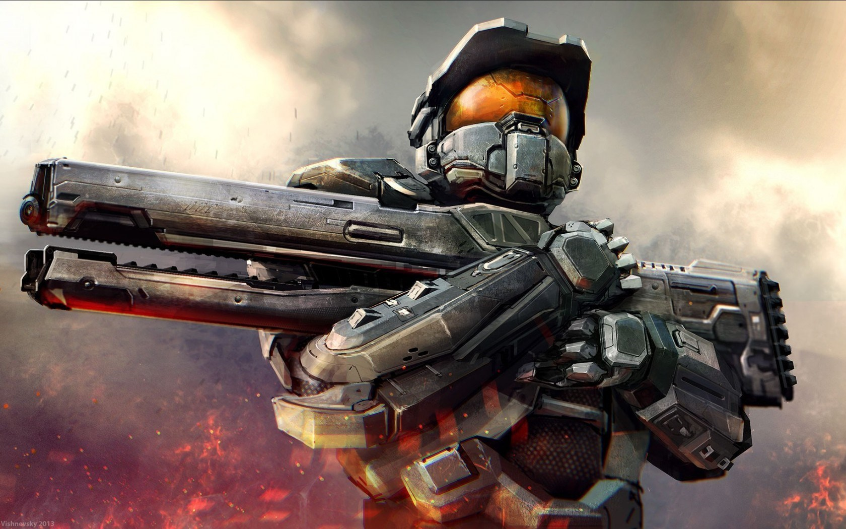 Wallpapers Games Awesome Halo Wallpaper 1680x1050