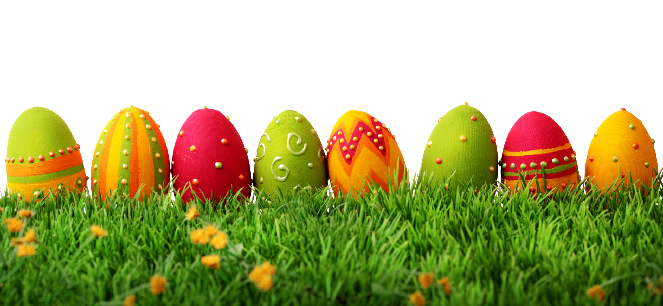 Colorful easter eggs   HD Desktop Wallpapers 4k HD 2549x1178