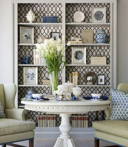 49 Using Wallpaper On Furniture On Wallpapersafari