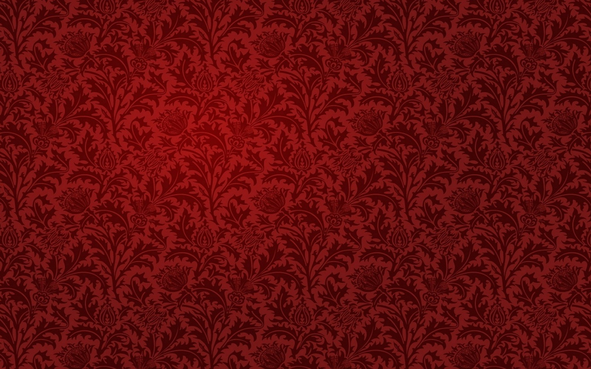 Red Damask Pattern Hd Wallpaper Wallpaper List 1920x1200