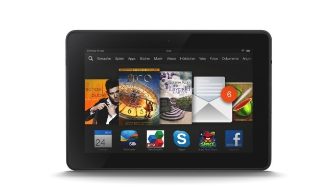 Amazon Kindle Fire HDX 7 Das 7 Zoll Tablet gibt es heute zum 658x370