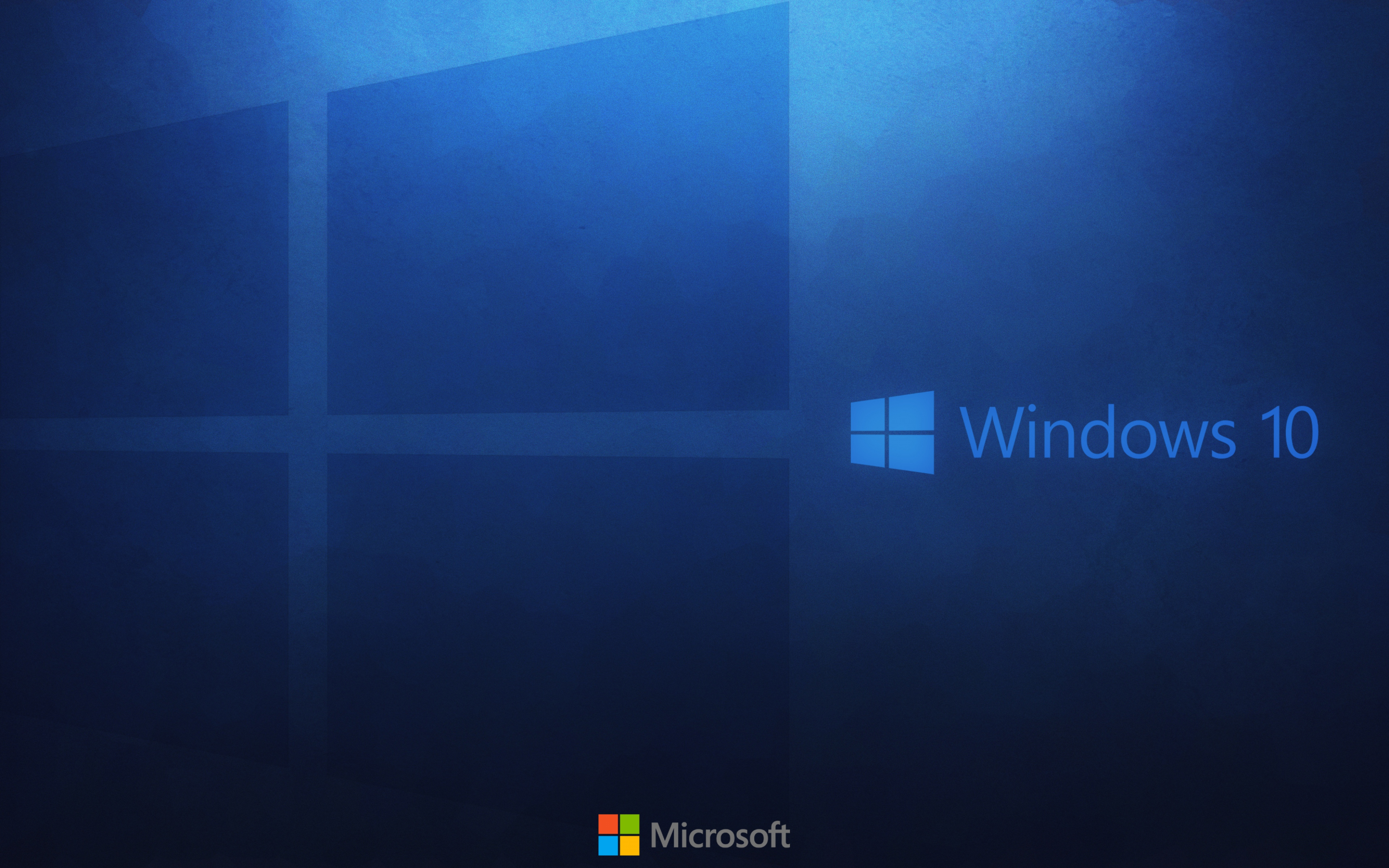 HD Background Windows 10 Wallpaper Microsoft Operating System Blue 3840x2400