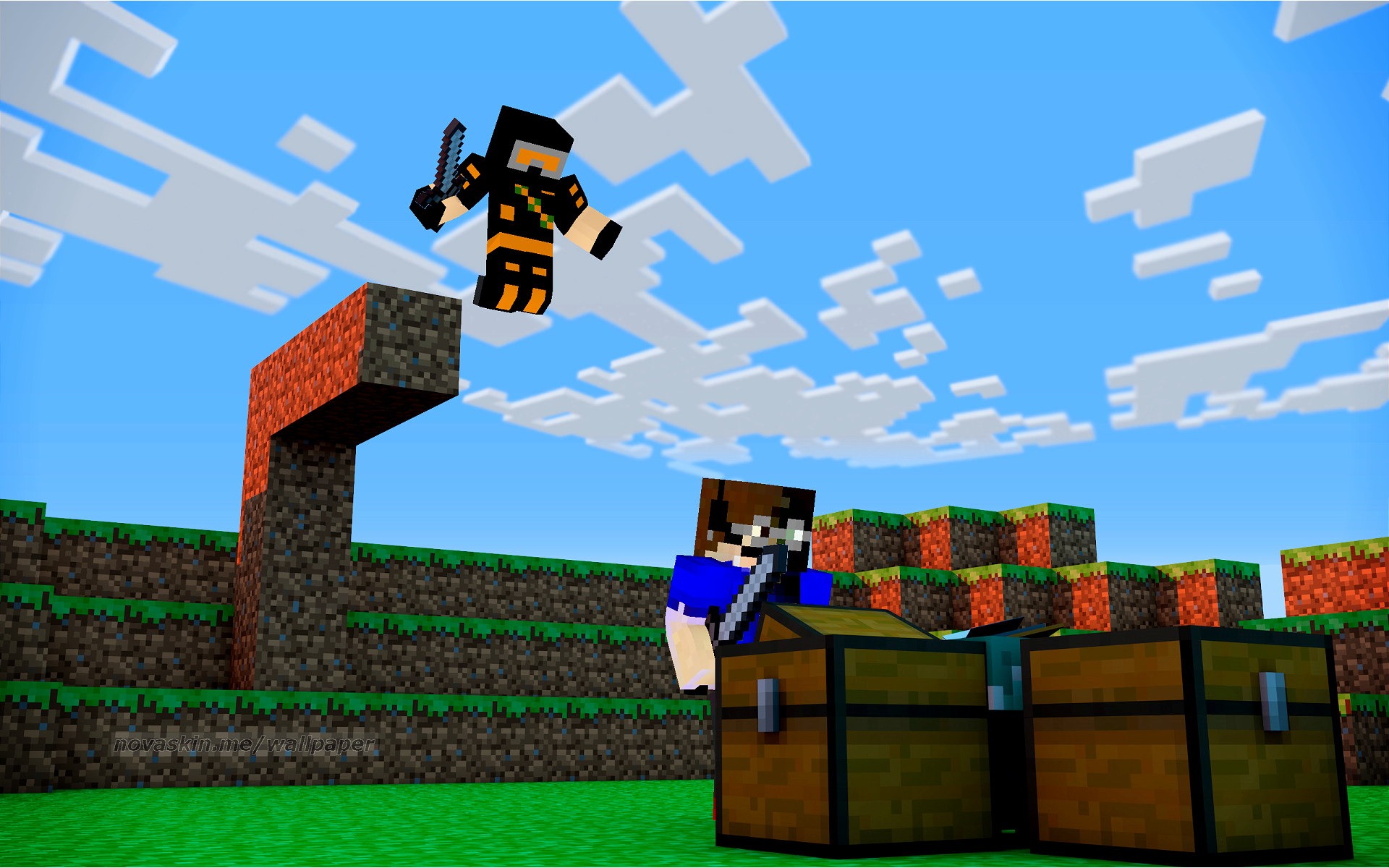 Minecraft Wallpapers Troller Console 1920x1200