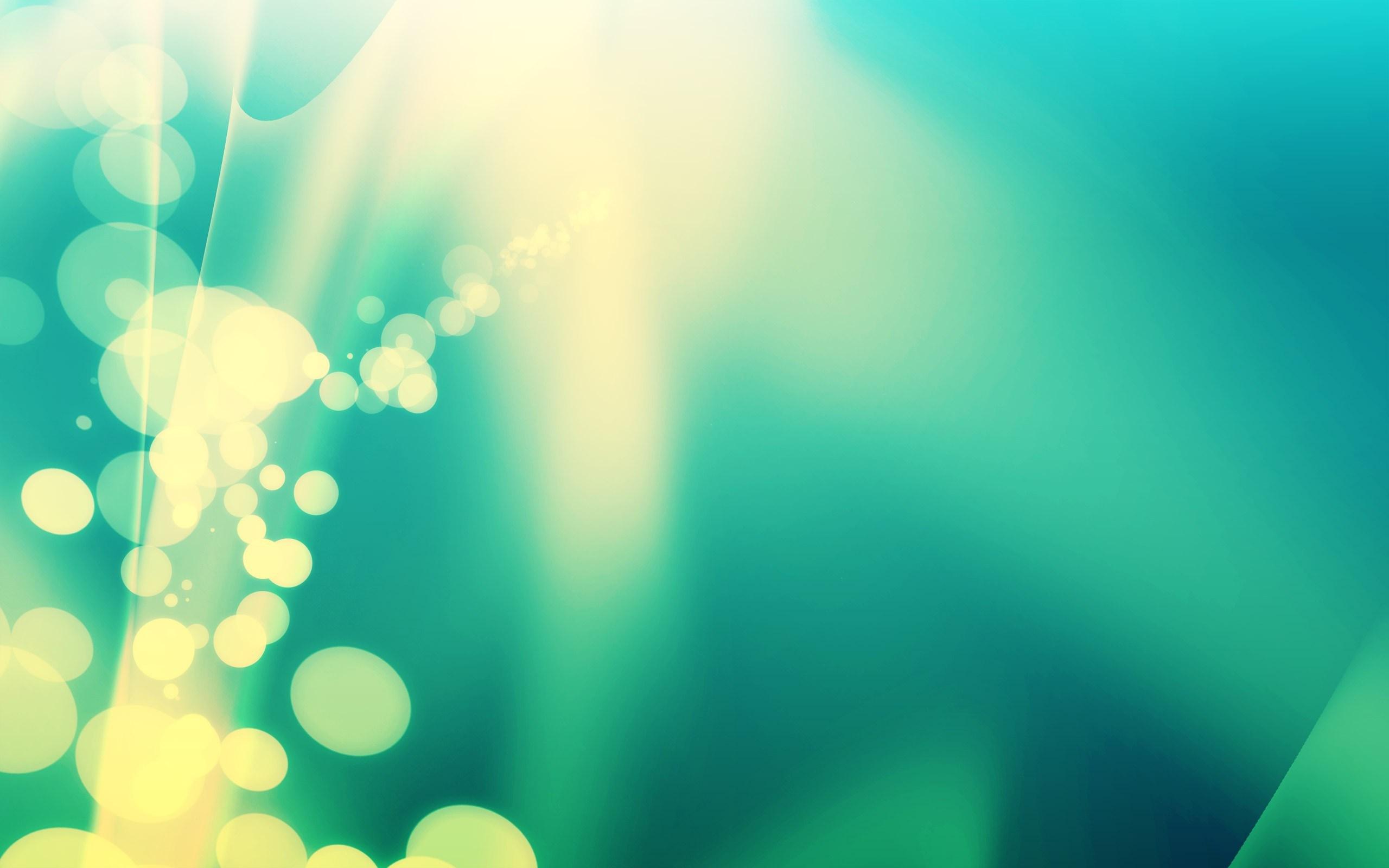 Green Color Stream desktop wallpaper 2560x1600