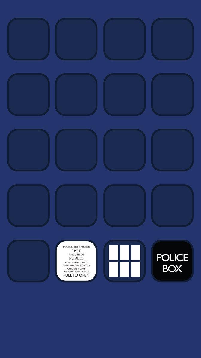 Wallpaper iphone 5 - Iphone 5 Wallpaper 2 Tardis Doctor Who Desktop And Mobile