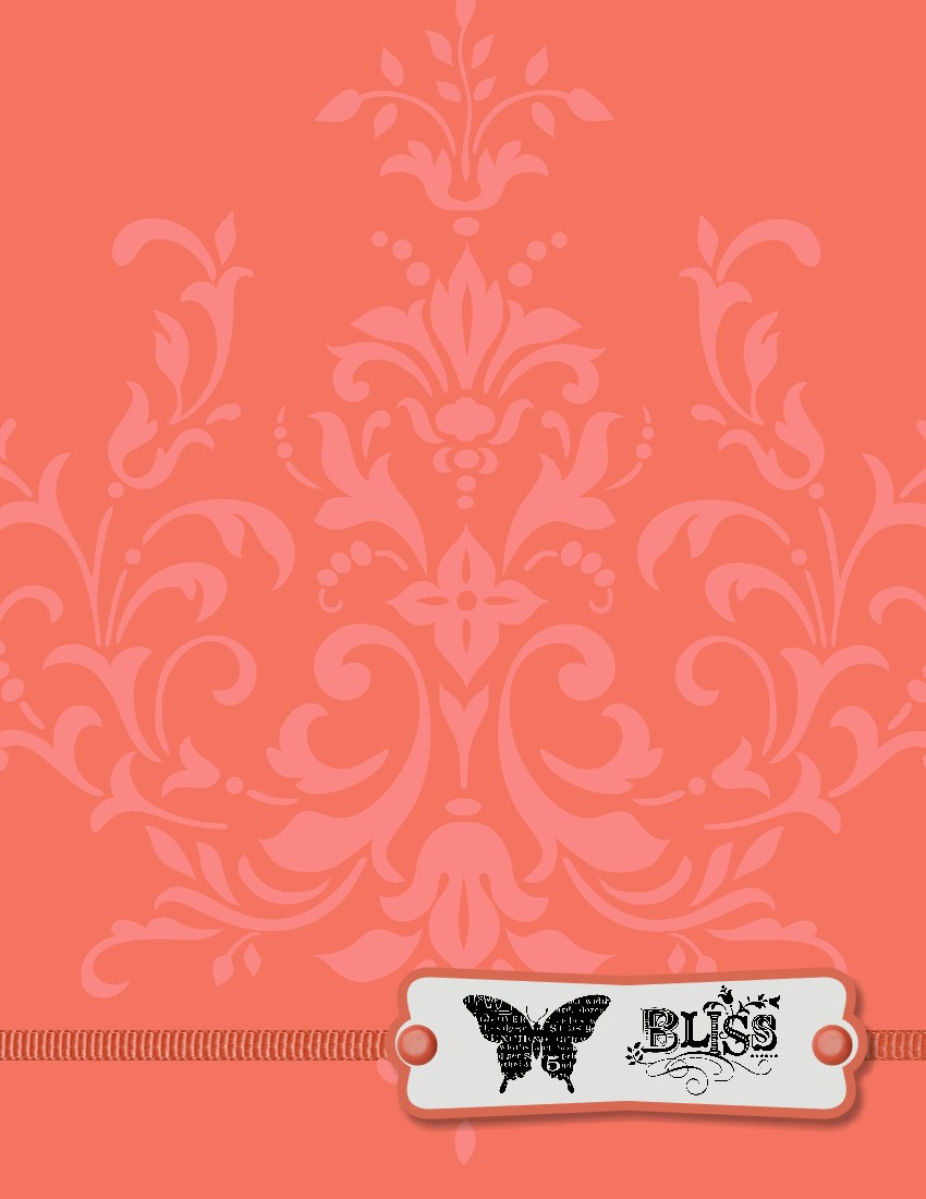 Coral Orange Color Background The background is calypso 850x1100