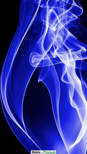 Blue smoke Wallpaper for Mobile 360x640