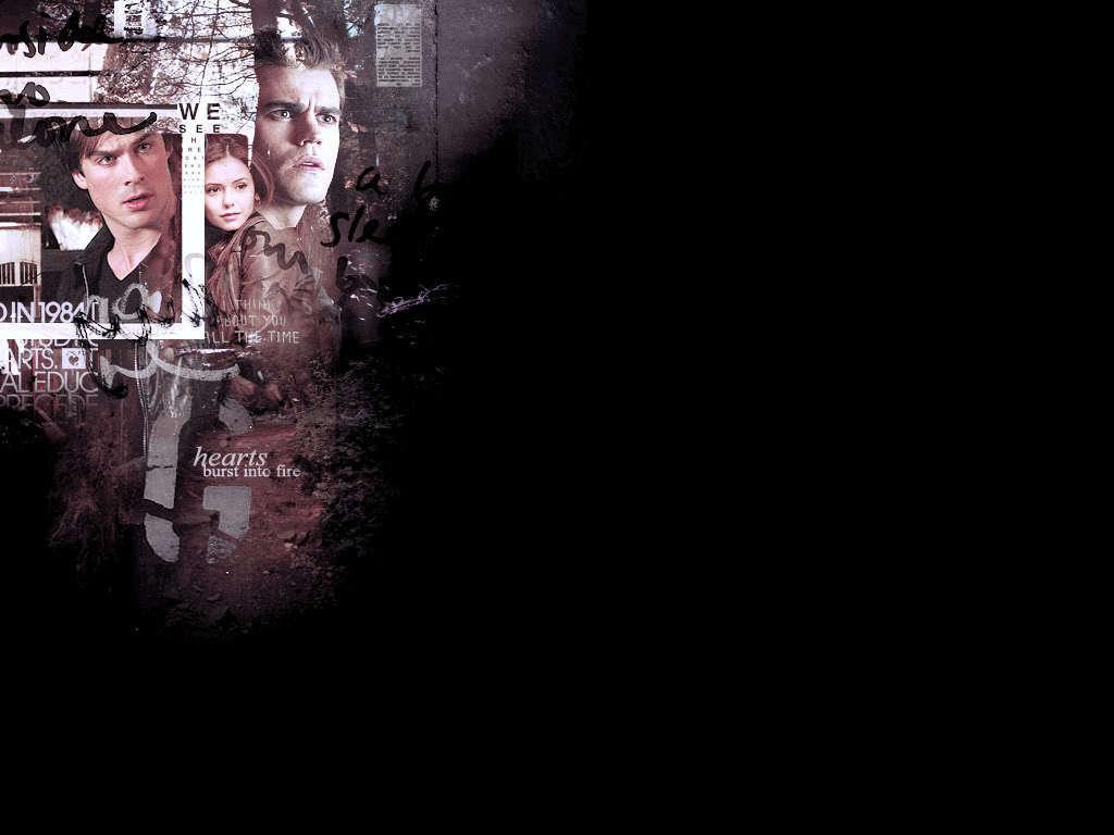 Damon Stefan   Damon and Stefan Salvatore Wallpaper 16383549 1024x768