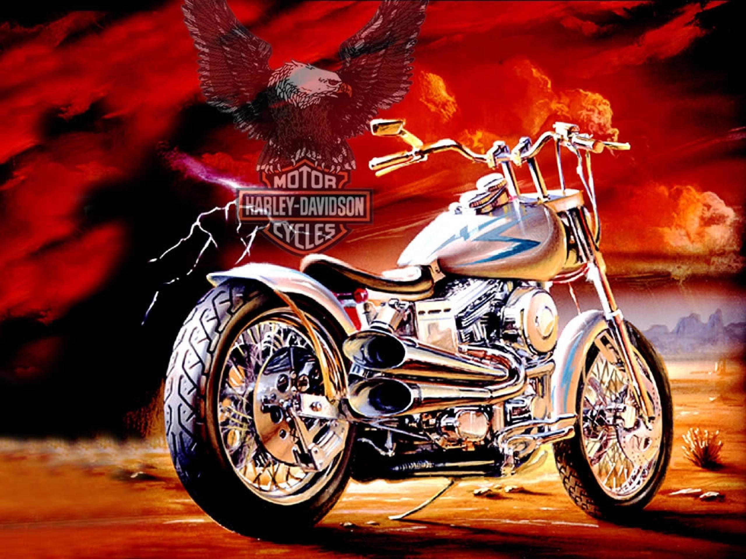 Harley Davidson Wallpapers 2560x1920