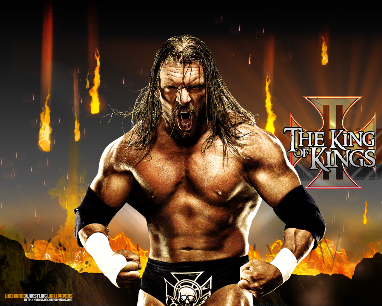 Download HQ The King of Kings Wrestling WWE Wallpaper Num 2 1280x1024