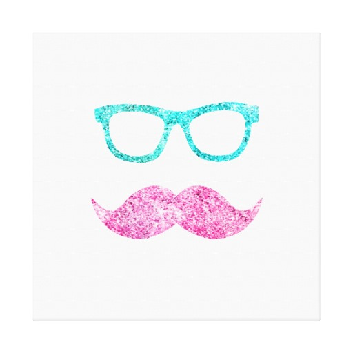 girly mustache wallpapers - photo #12