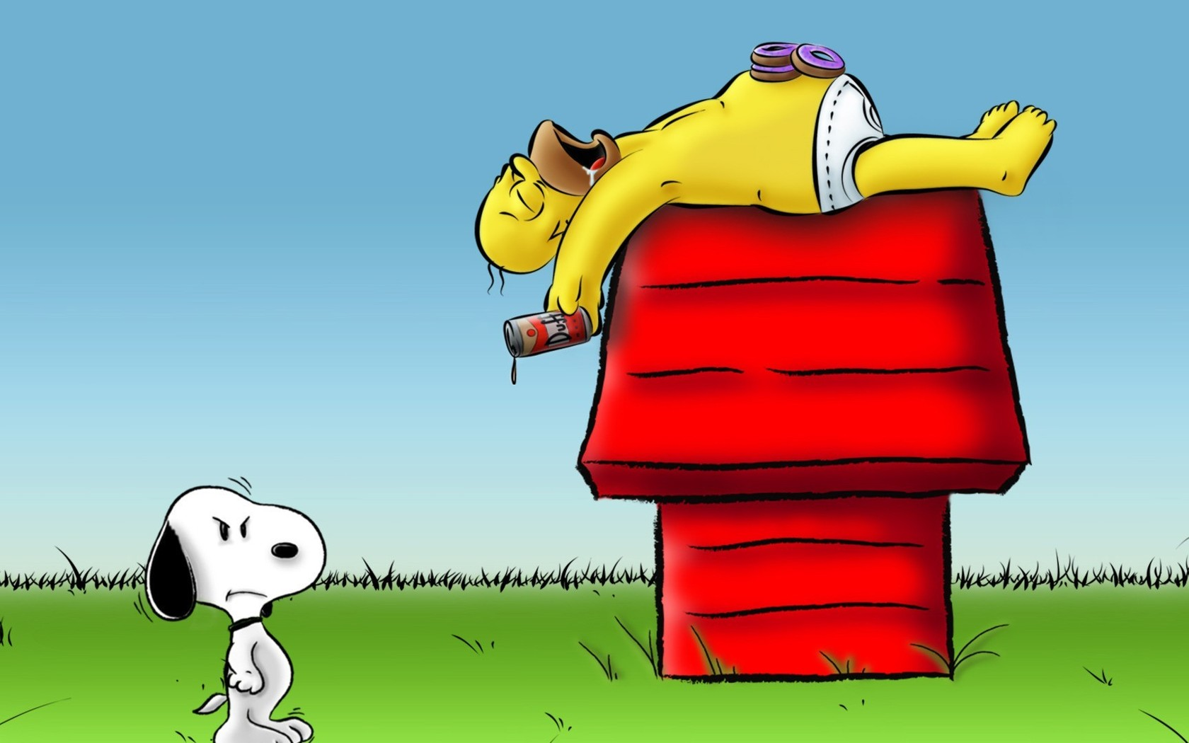 Snoopy Christmas HD Wallpapers For Desktop 1680x1050