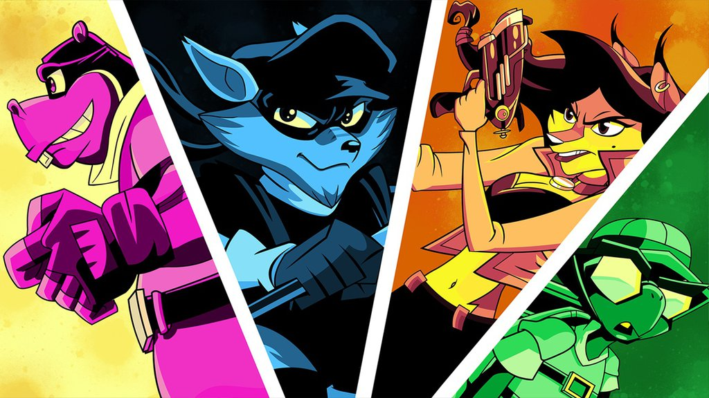 Sly cooper anime wallpaper by sharnihendry d6j7iir 1024x576