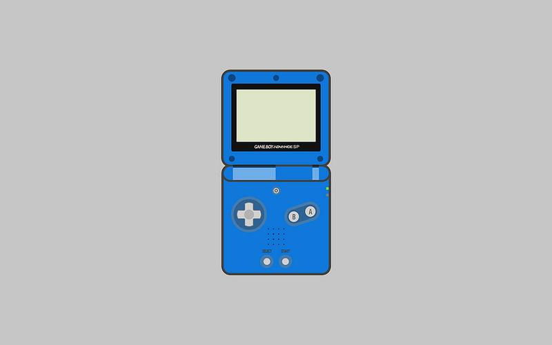 Nintendo Game Boy Advance SP Wallpapers   Matt Gemmell 800x500