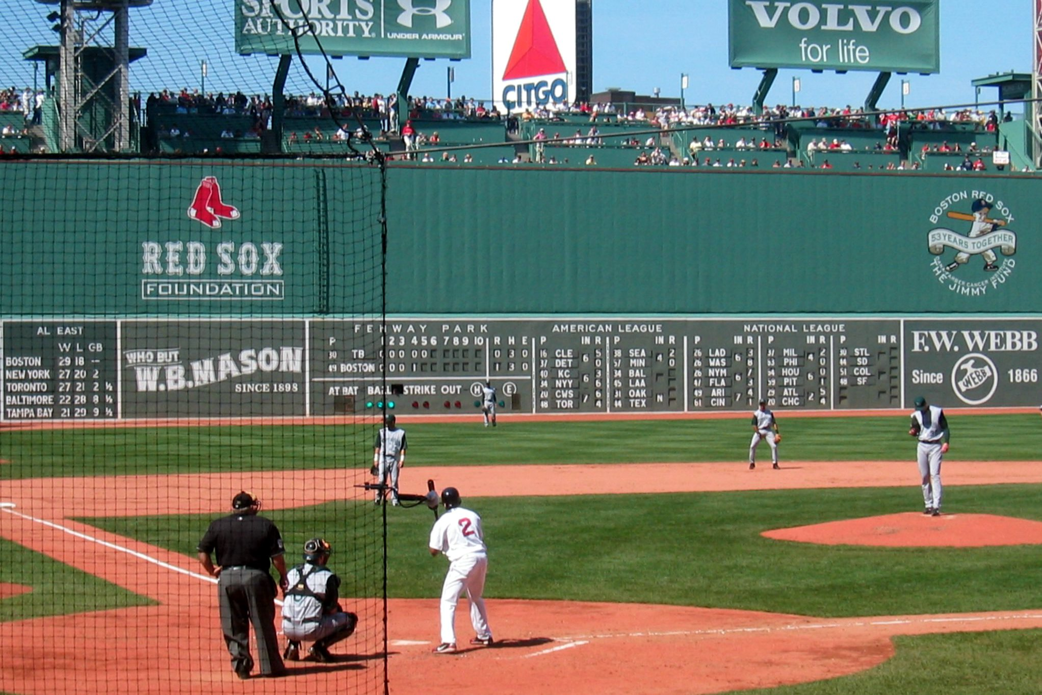 Fenway Park Home Plate Green Monster Flickr   Photo Sharing 2044x1363