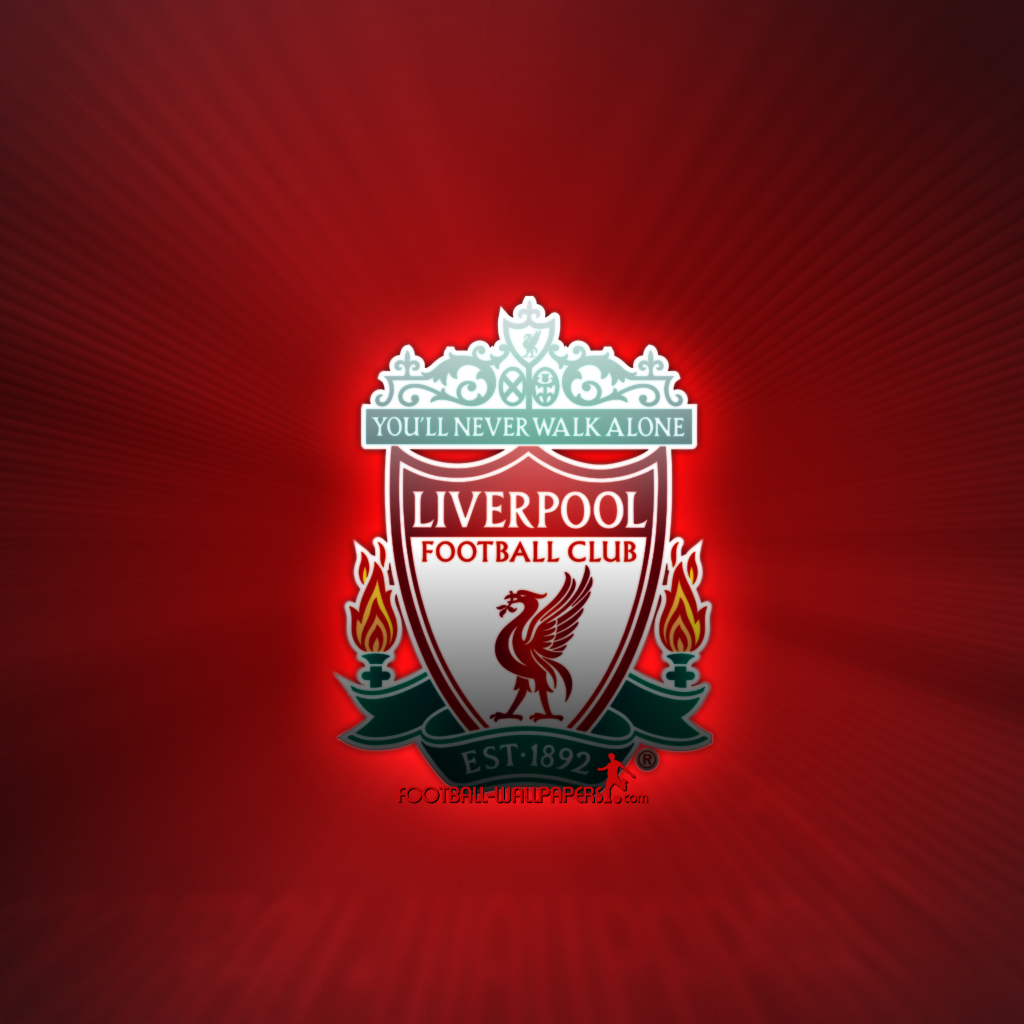 download Liverpool Logo Tablet wallpaper and background 1024x1024