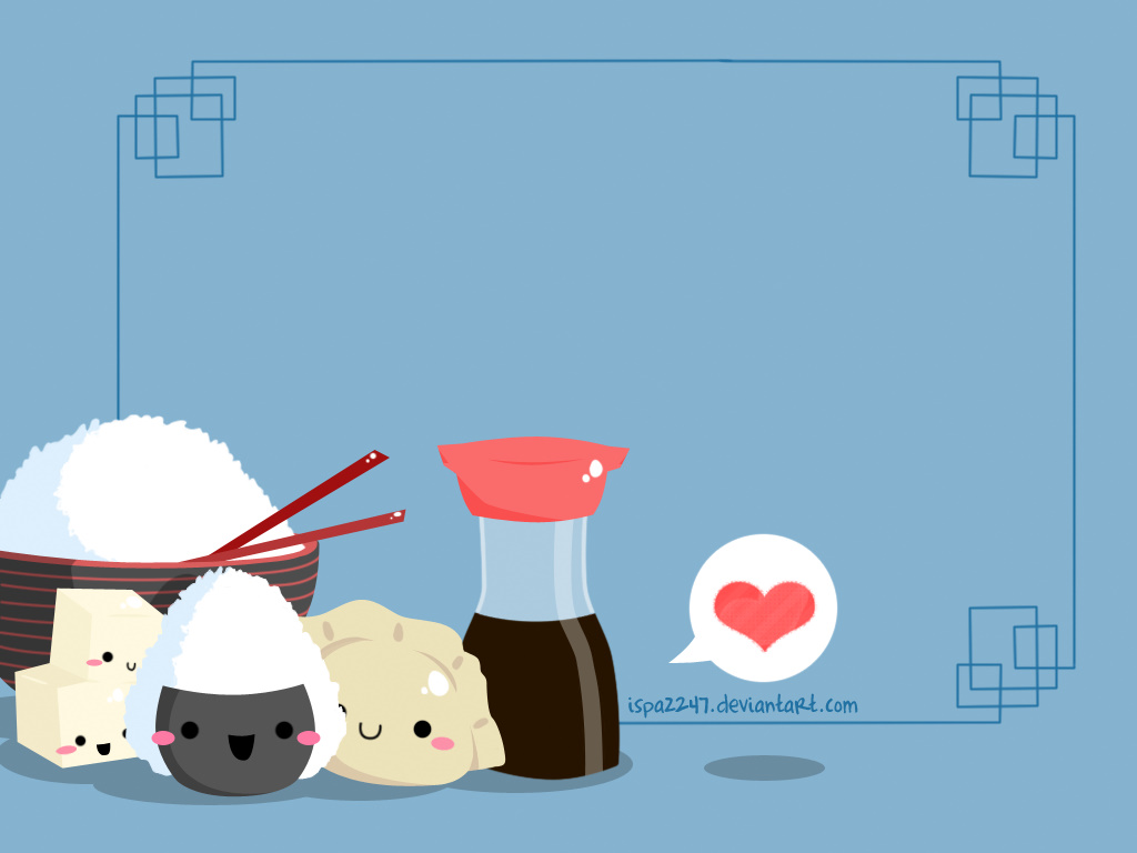Japanese Food Background Oriental Foods Background 3 1024x768