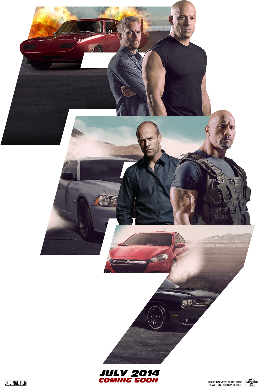 fast and furious 7 1080x1600