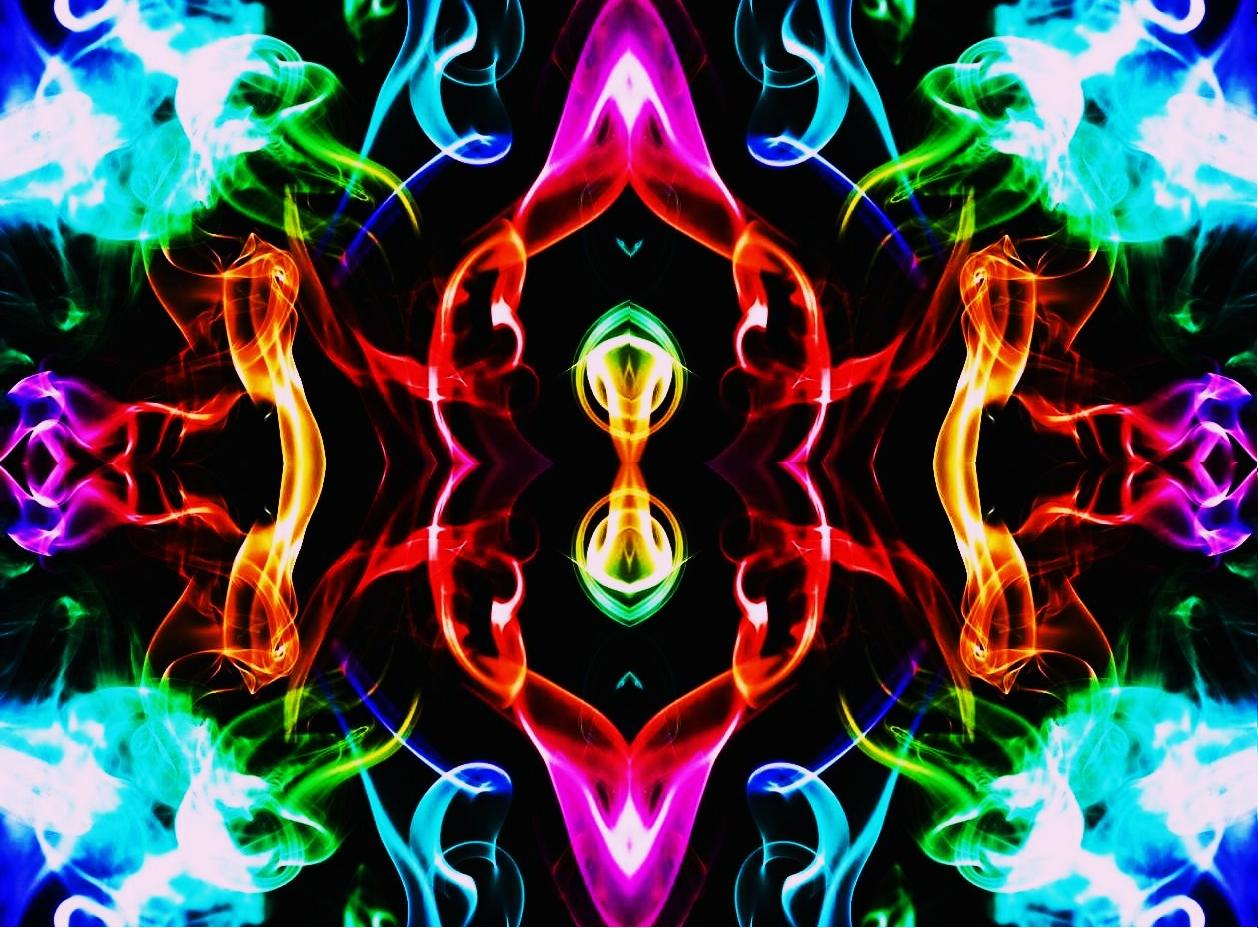 rainbow smoke wallpapers r - photo #36