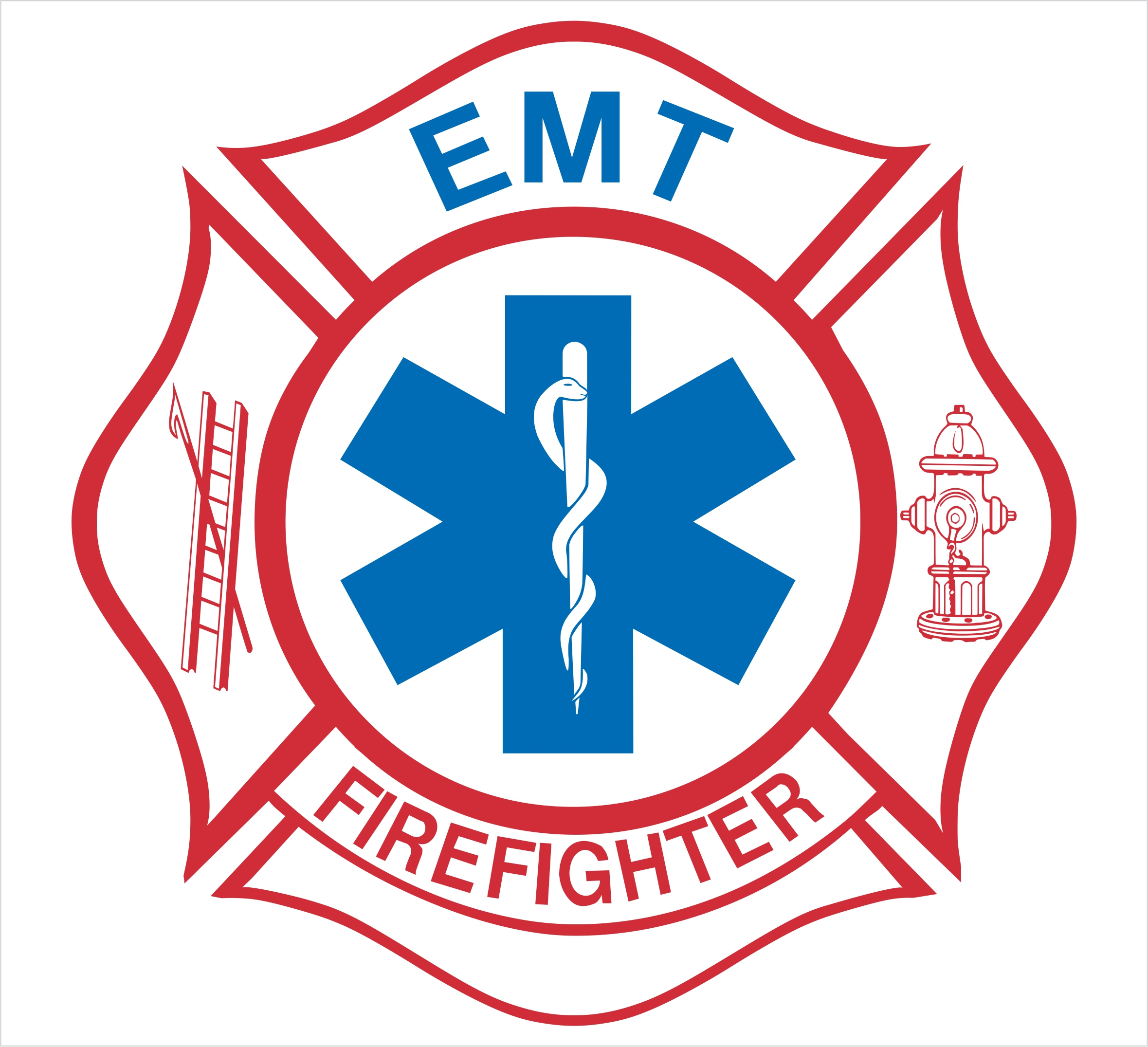 Firefighter Maltese Cross With Flames Emtfirefighter Pictures 2359x2151