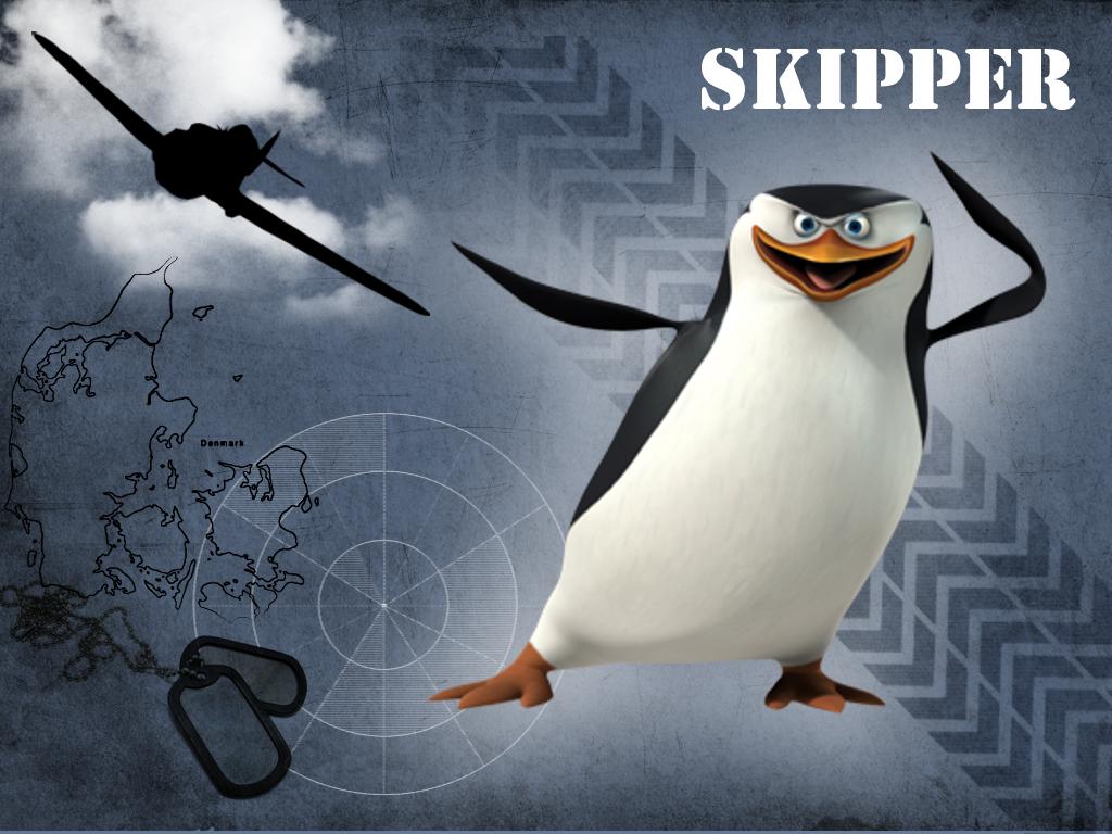 Free download Skipper Penguins of Madagascar Wallpaper