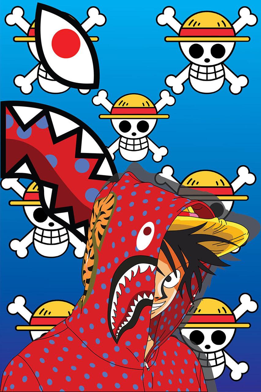 If Ash Ketchum Goku Piccolo Kisame And Luffy Were Hypebeasts 853x1279