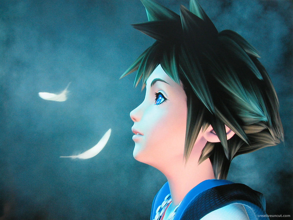 Sora   Kingdom Hearts   Kingdom Hearts Wallpaper 502012 1024x768