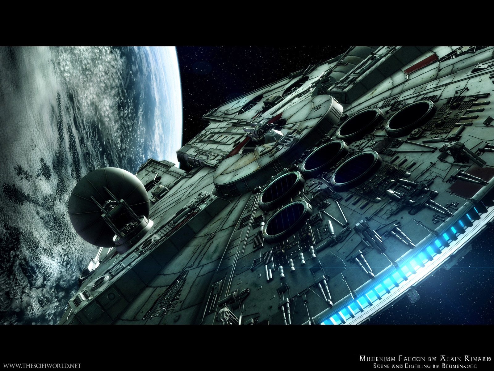 collection of cool desktop wallpaper pictures for Star Wars fans 1600x1200