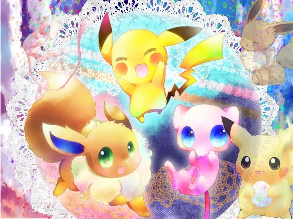 77 Pokemon Wallpaper Cute On Wallpapersafari
