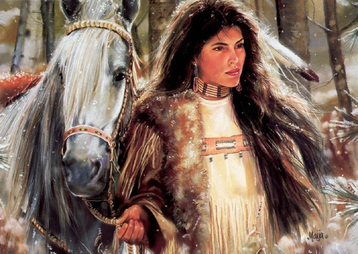 Native American 2 Wallpapers Metal Luis Royo Heavy Metal wallpapers 1200x850