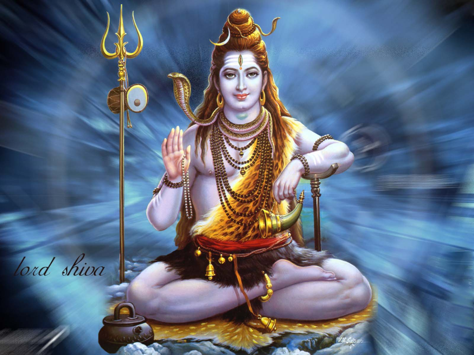 Lord Shiva Wallpapers HD Wallpapers for Desktop   2014 1600x1200