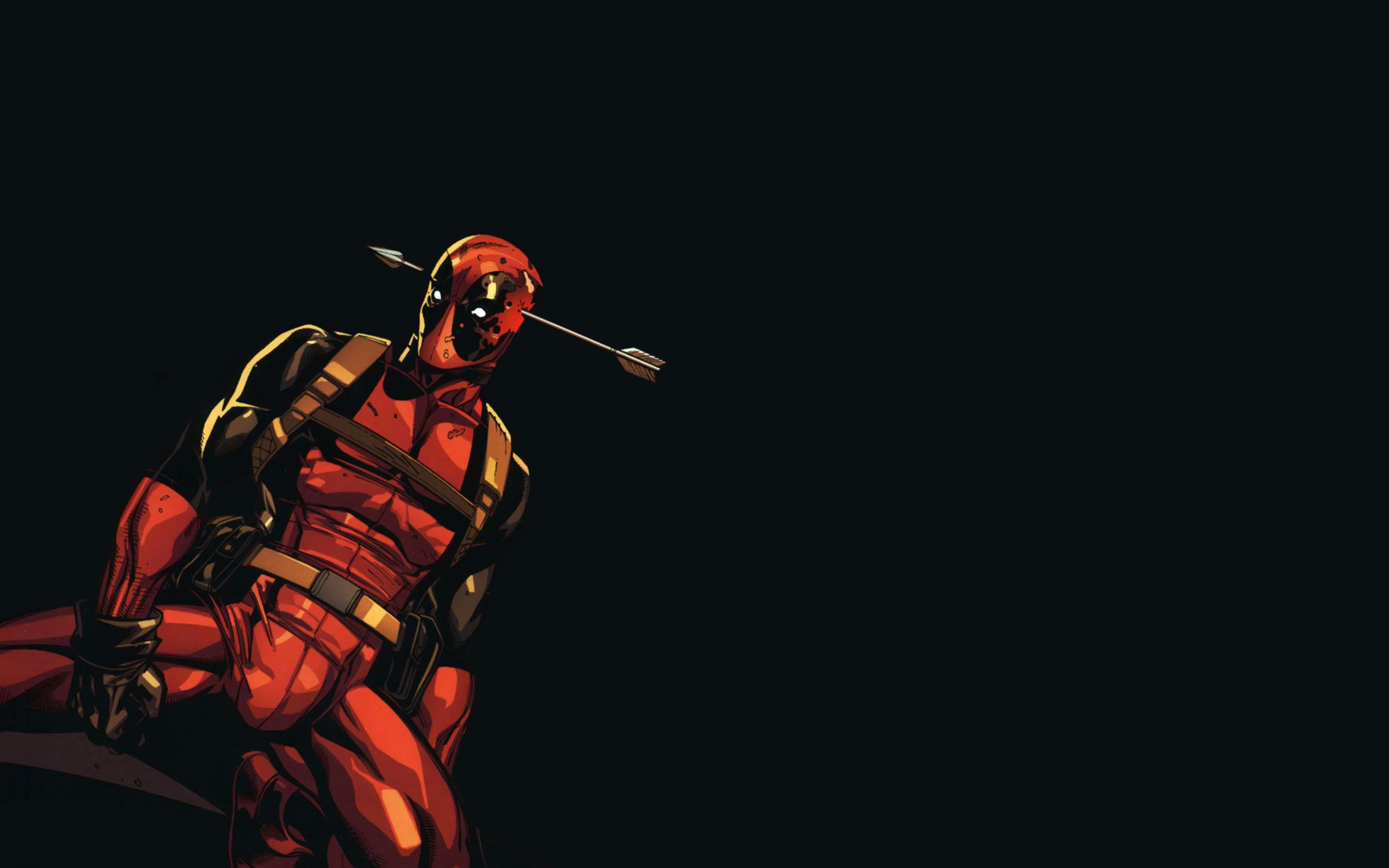 Deadpool Wallpaper Wide Awesome pftm704g   Yoanucom 2400x1500