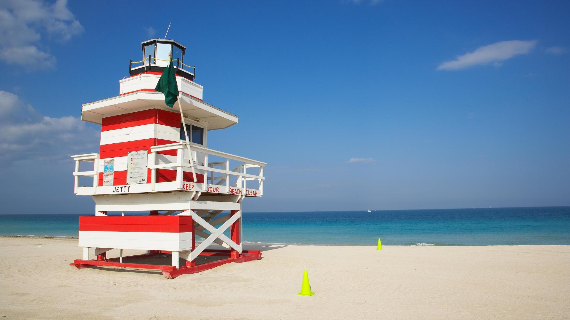 Майами США страны архитектура пляж  № 2229456  скачать