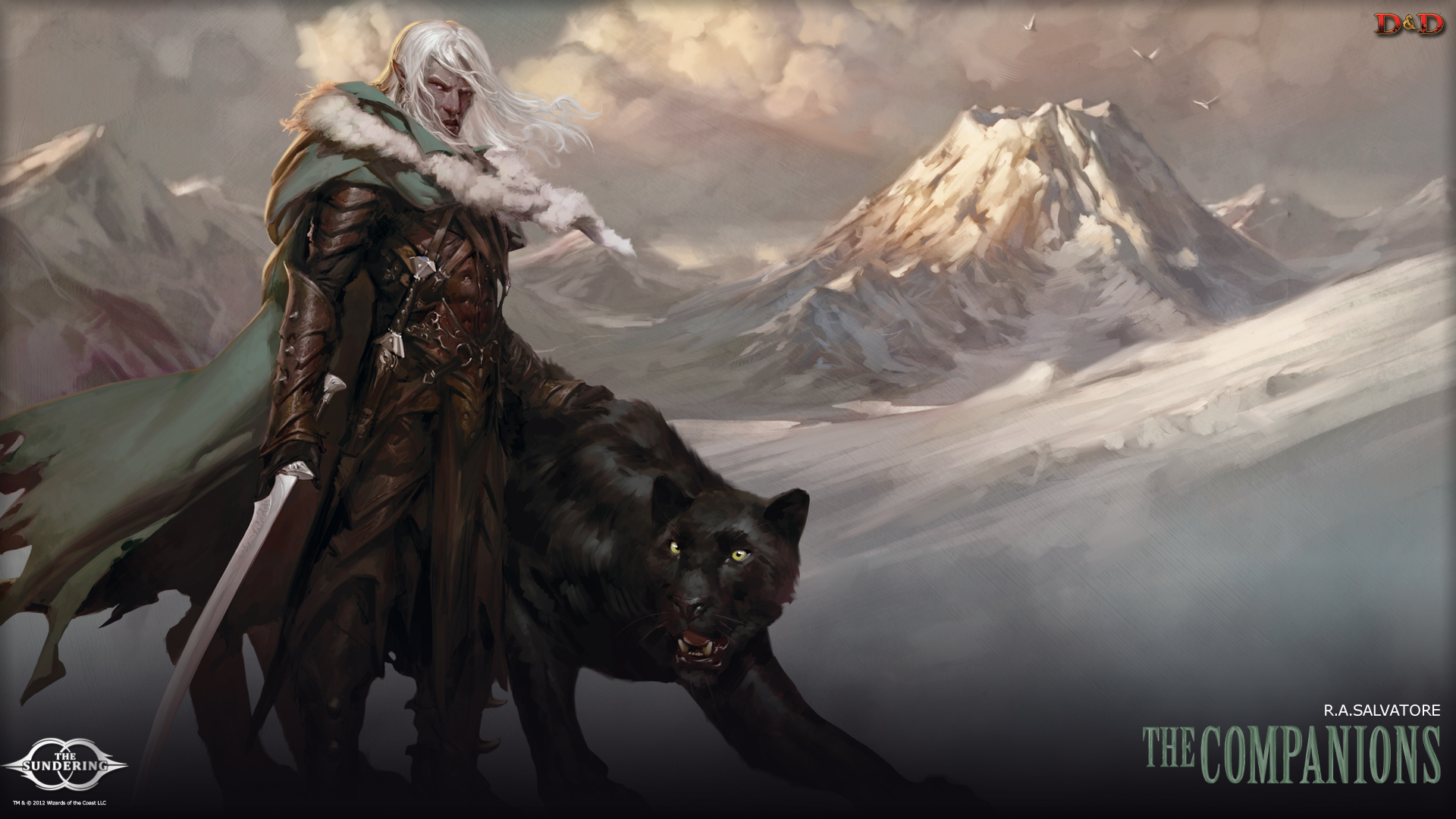 Drizzt Wallpaper 1920x1080 Dungeons dragons tyranny of 1920x1080