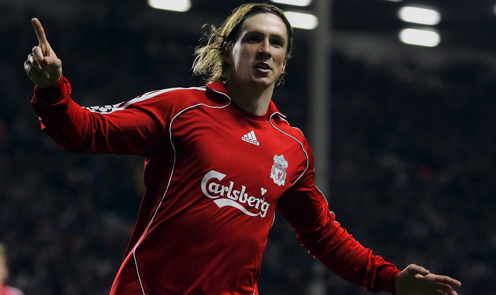 top footballer wallpaper Fernando Torres Liverpool Jersey Wallpapers 1600x953
