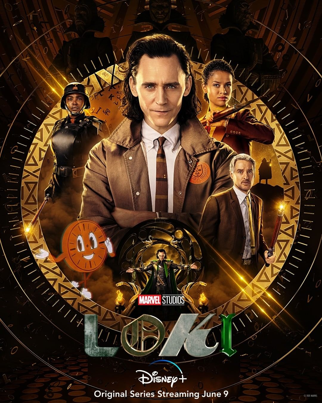 Updated New poster for Loki 2021 Movie Wallpapers 1080x1350