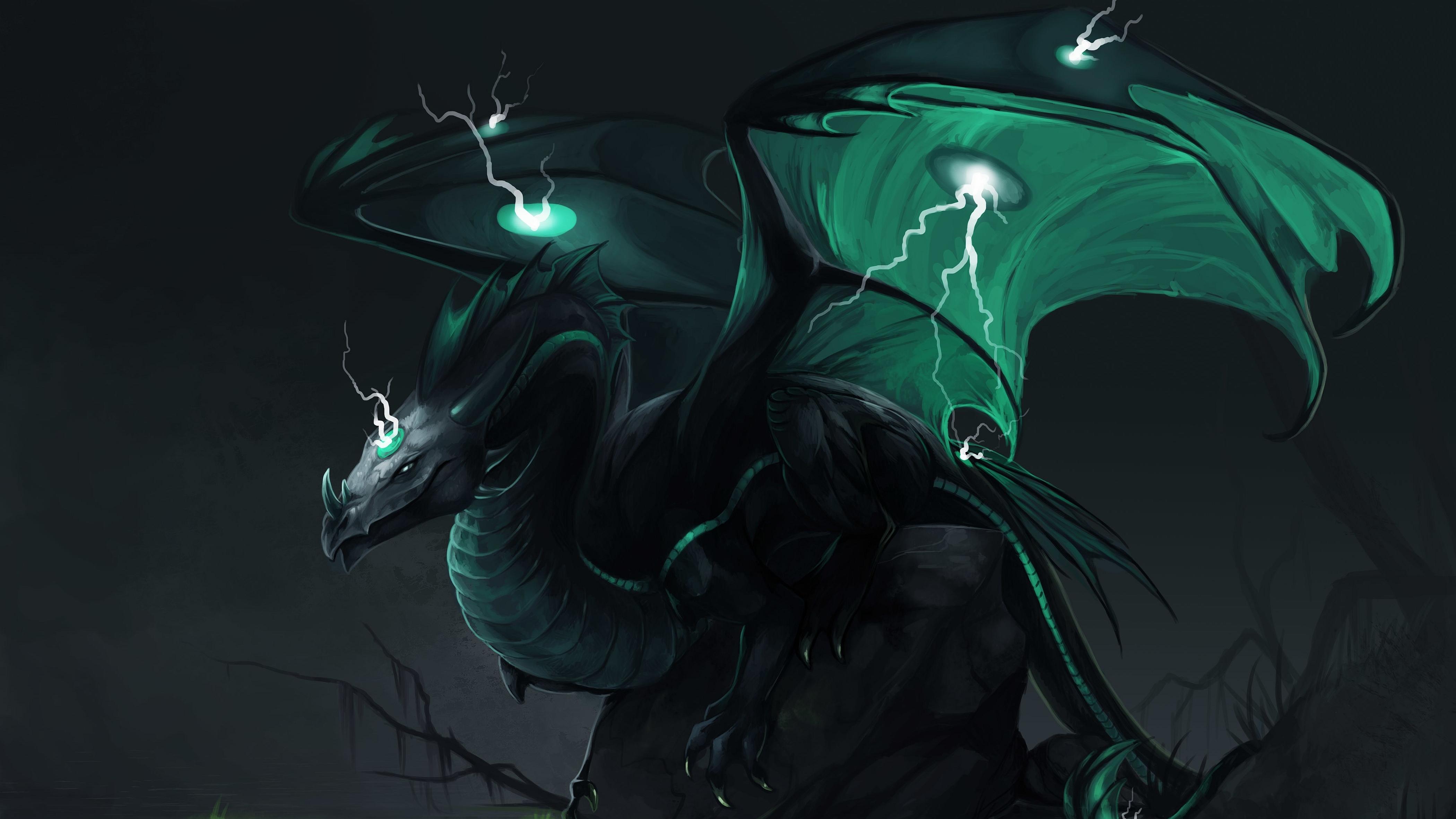 download green dragon fantasy hd wallpaper search more high definition 4200x2362