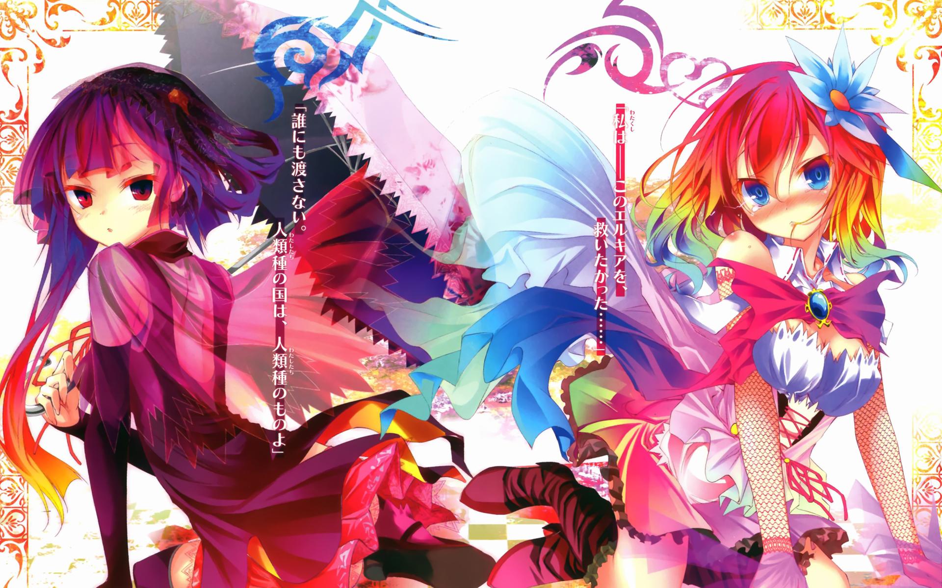 no game no life anime girls spring 2014 hd wallpaper 1920x1200 full 1920x1200