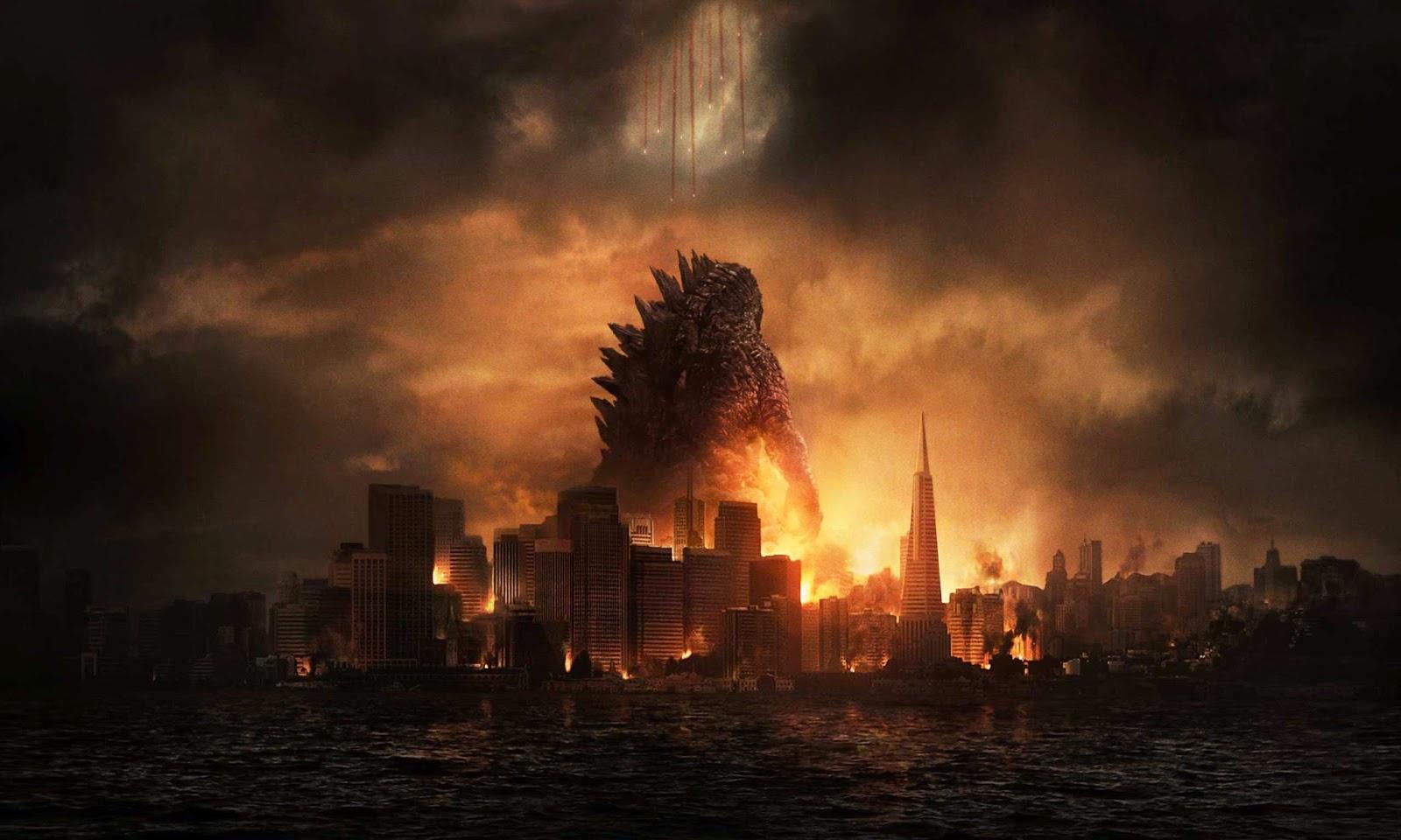 source Presented by LEAGUE OF FICTION Godzilla HD Desktop Wallpaper 1600x960