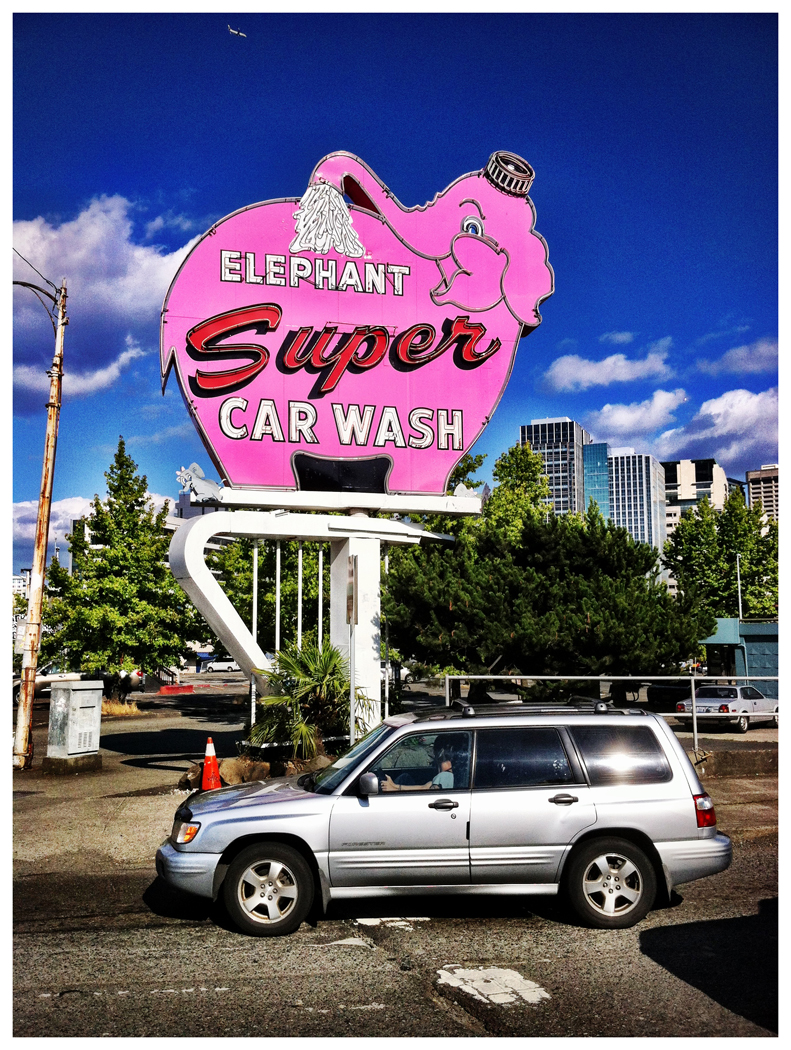 Elephant Car Wash And Car Wallpaper 11683 Wallpaper ForWallpapers 791x1050