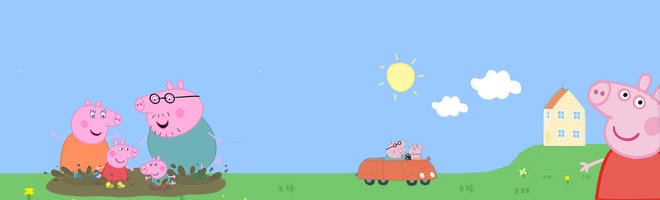Peppa Pig Toys Peppa Pig Desktop Wallpaper 660x200