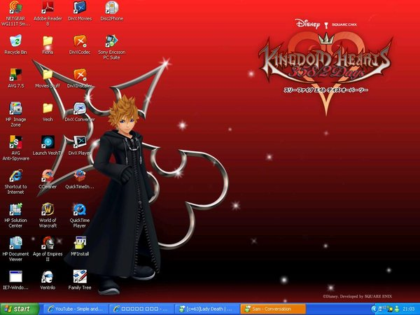 Kingdom Hearts Roxas wallpaper by Feebeefi 600x450