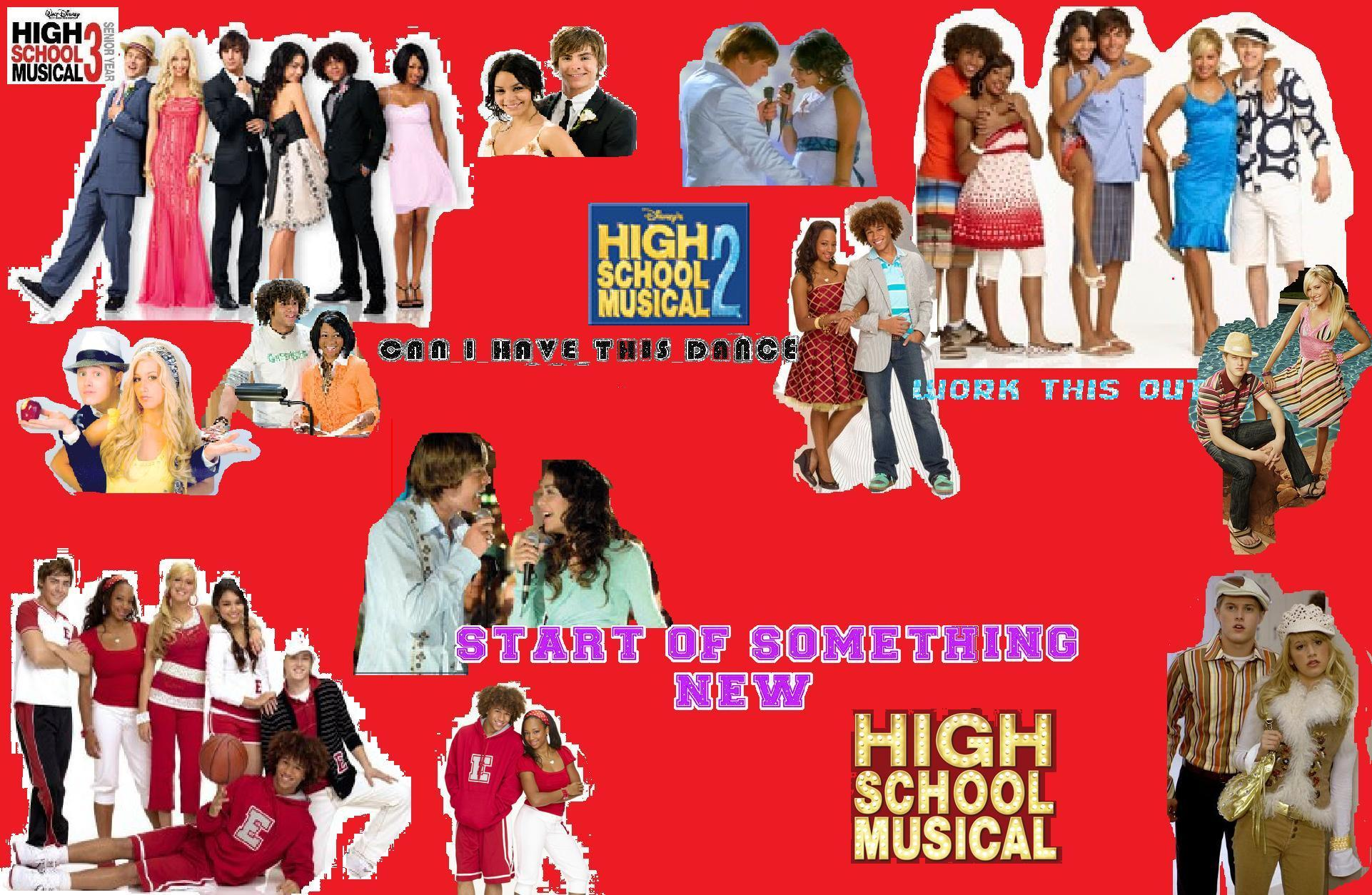 HSM wallpaper   High School Musical 1 2 and 3 Photo 10986791 1922x1254