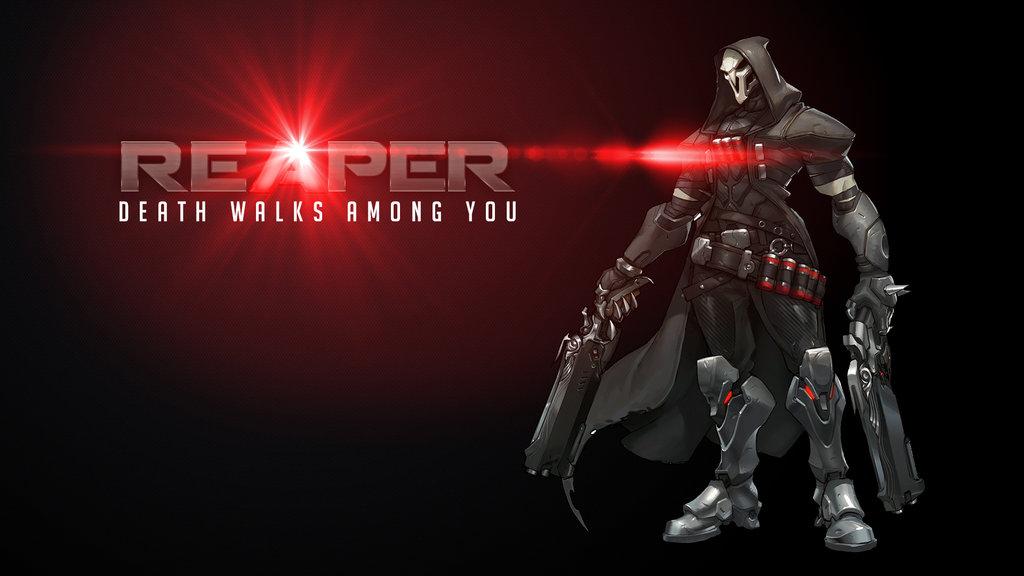 [48+] Overwatch Reaper Wallpaper on WallpaperSafari