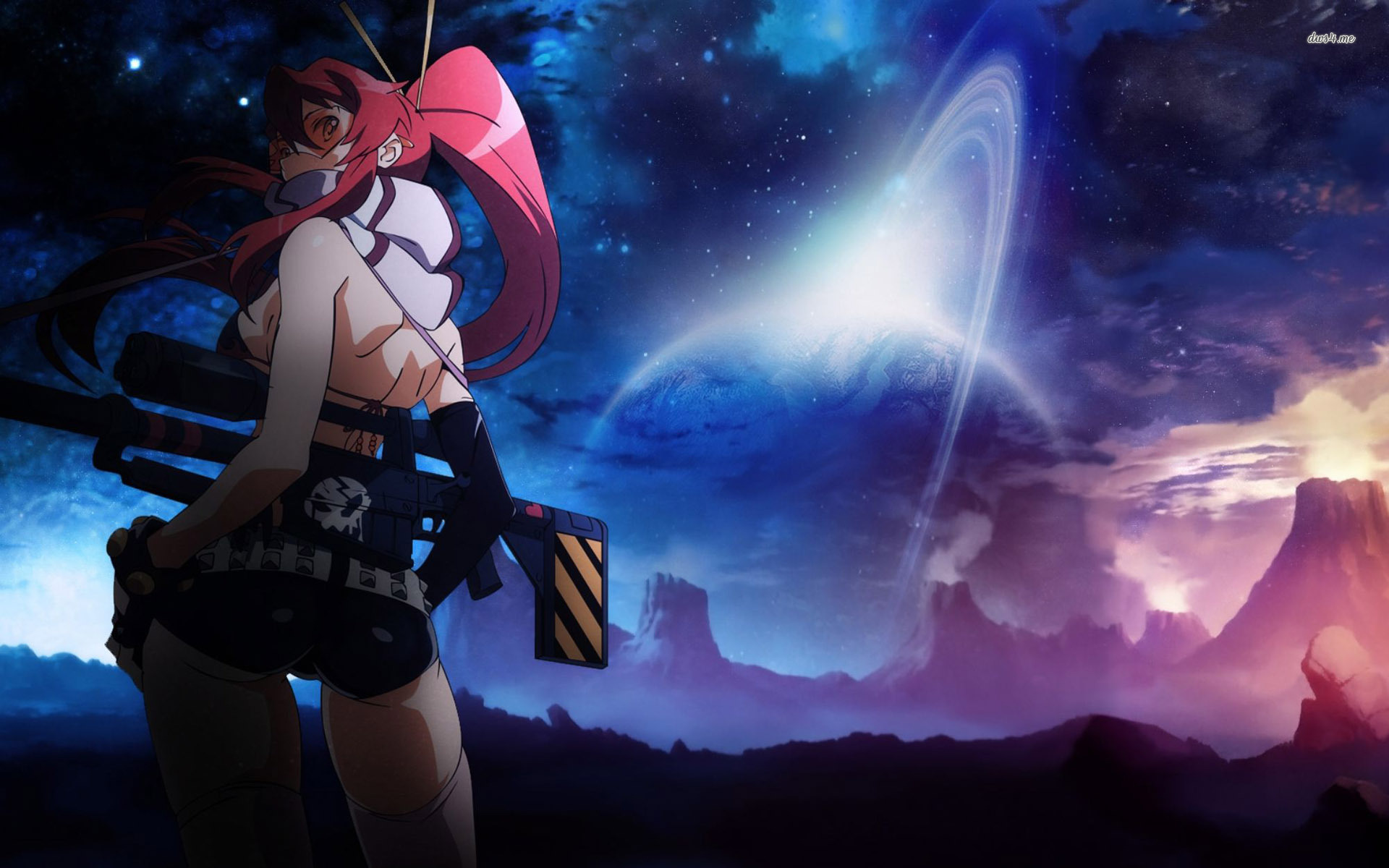 Gurren lagann wallpaper yoko wallpapersafari - Gurren lagann wallpaper ...