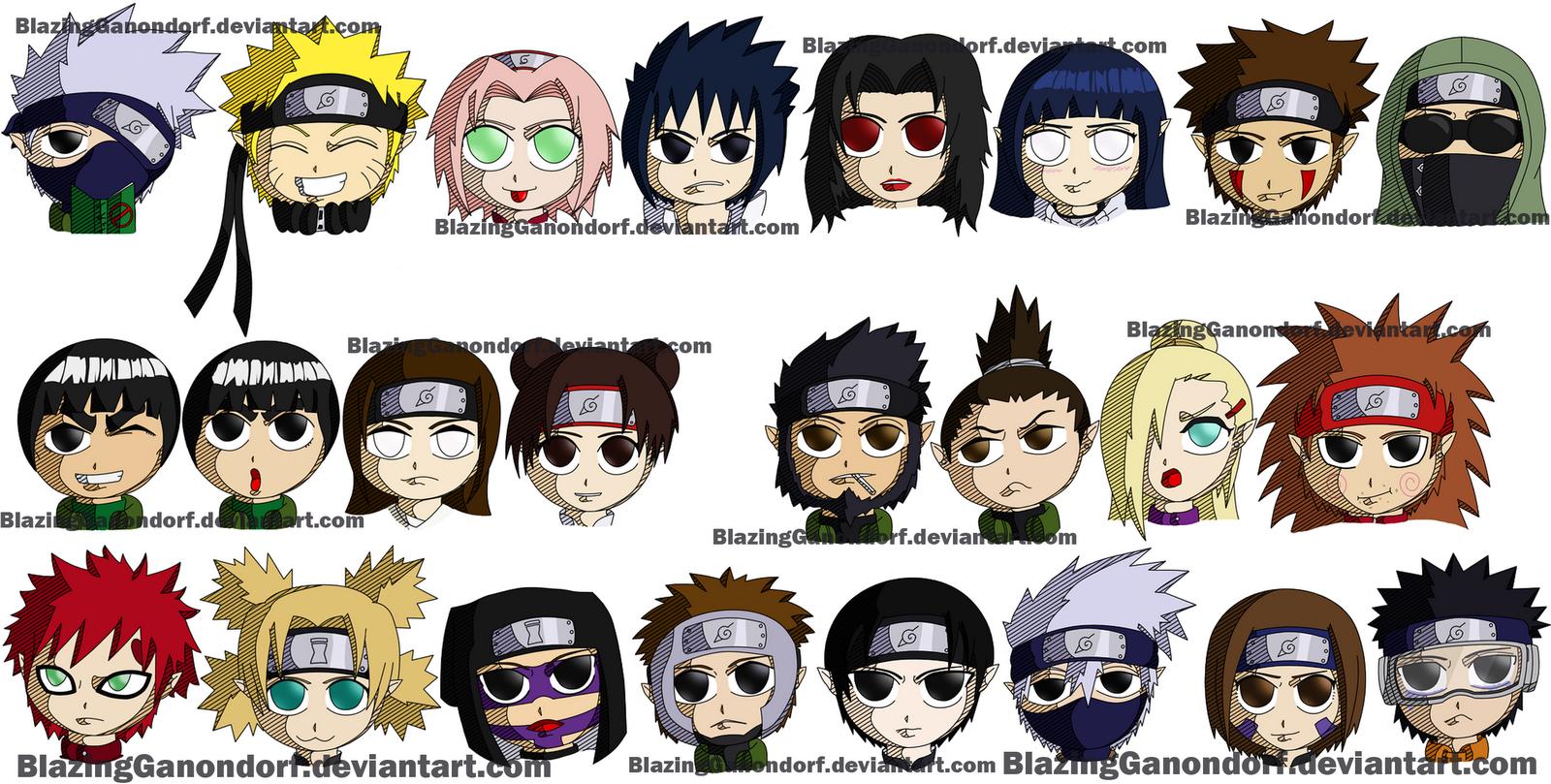 Naruto Characters Wallpaper - WallpaperSafari