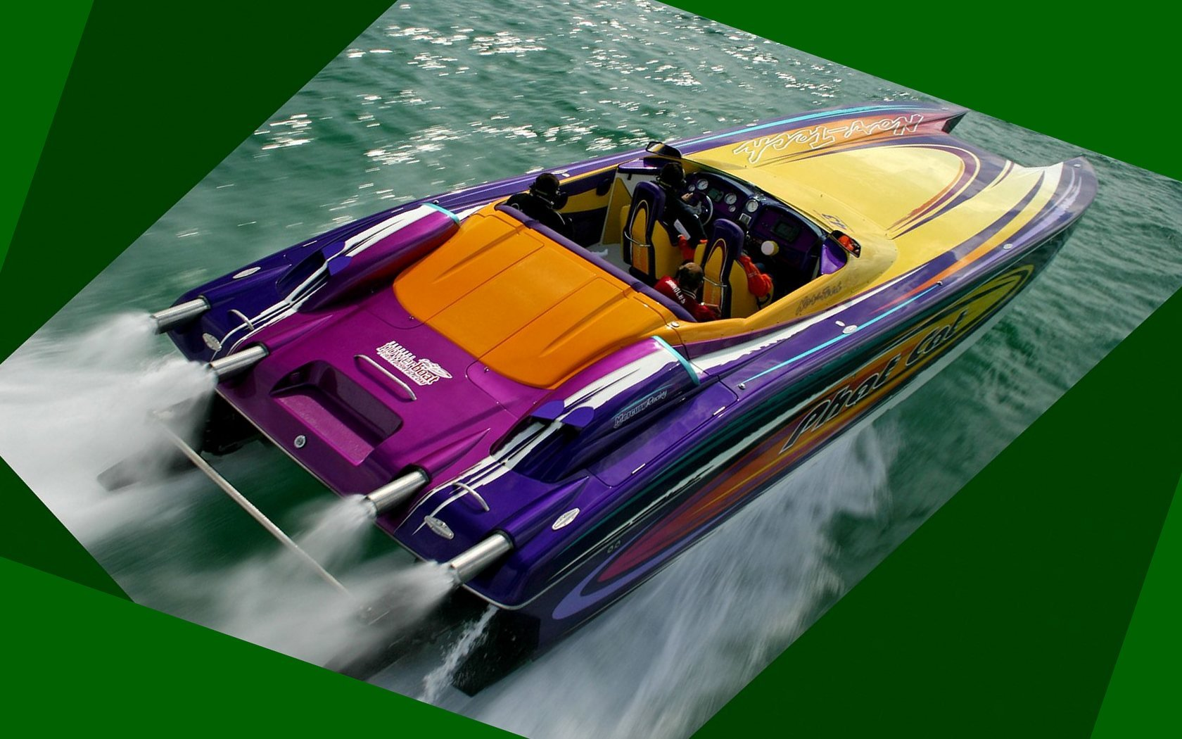 superboat custom cigarette offshore race racing wallpaper background 1680x1050